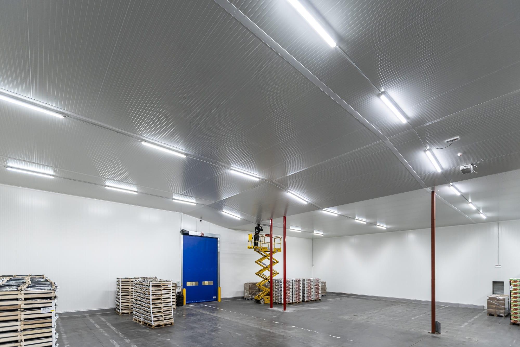 Installatie van LED verlichting in Zulte
