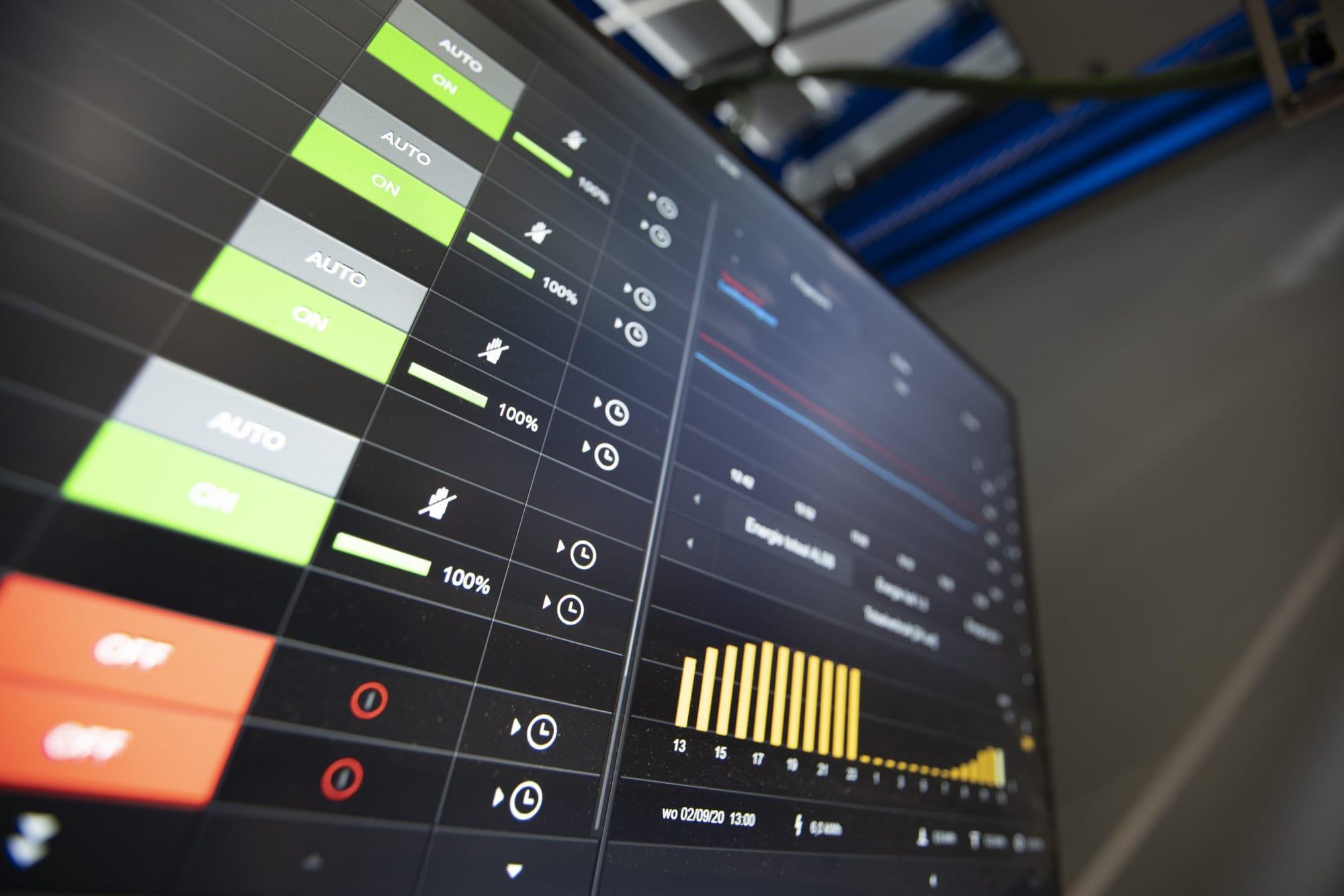 KNX visualisatie bij IDE WOODS. Een realisatie van Veritec