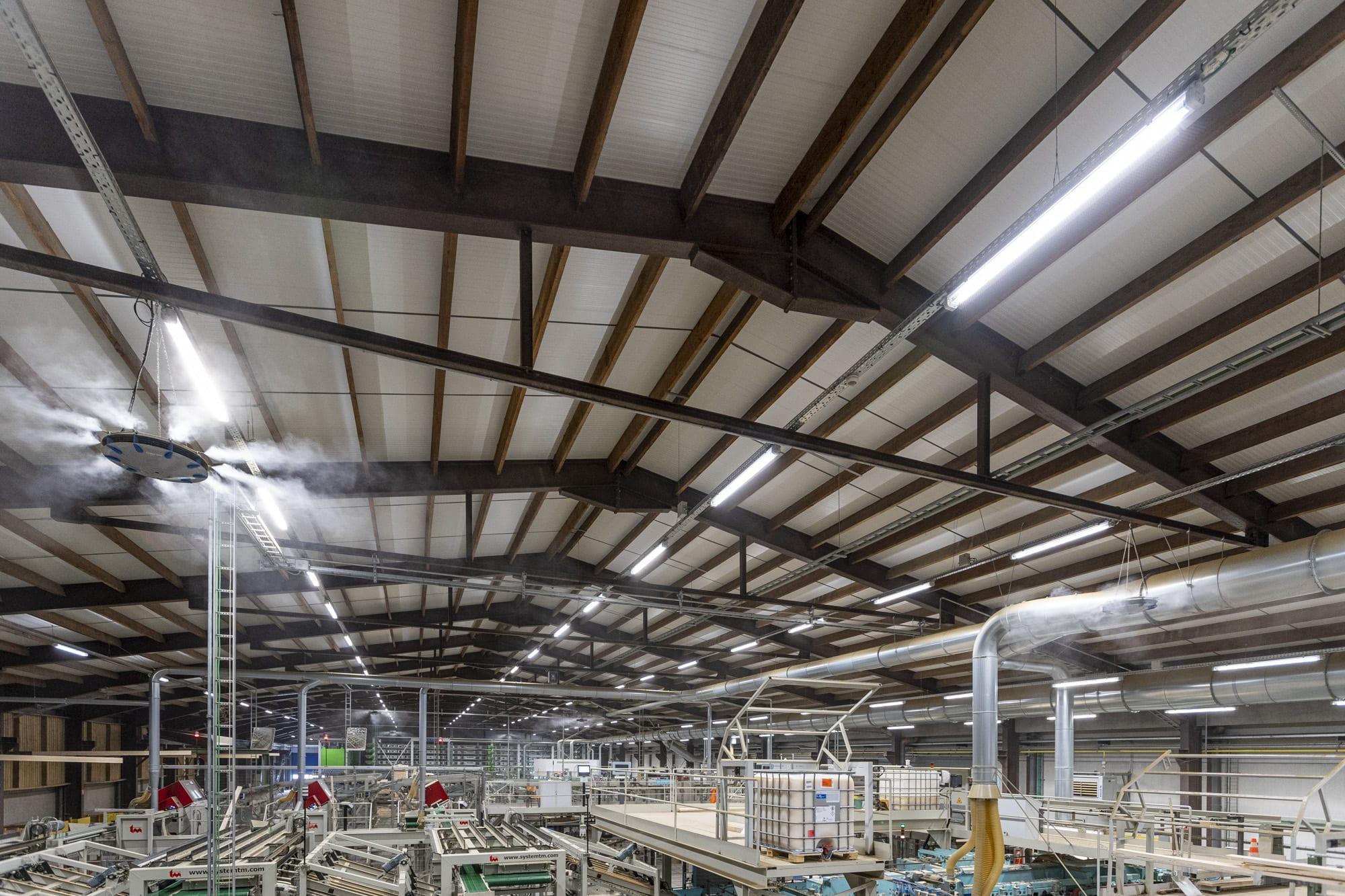 LED verlichting bij IDE Woods Spiere-Helkijn